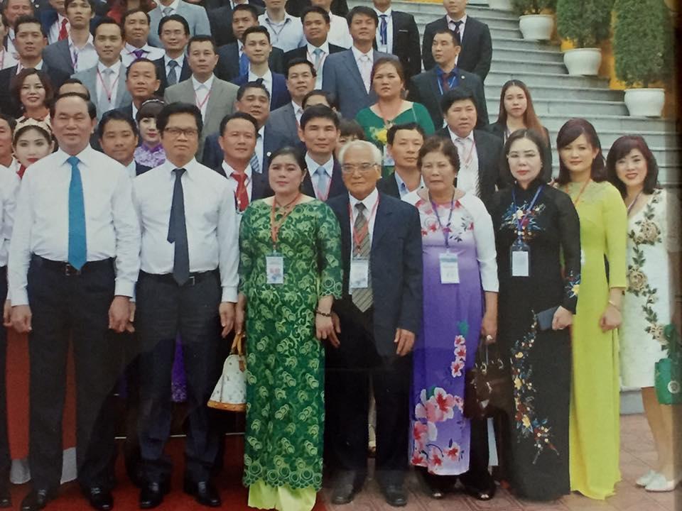 Công ty TNHH Pizu tiếp kiến chủ tịch nước Trần Đại Quang