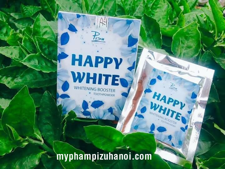 Happy White Pizu, Whitening Booster Toothpowder