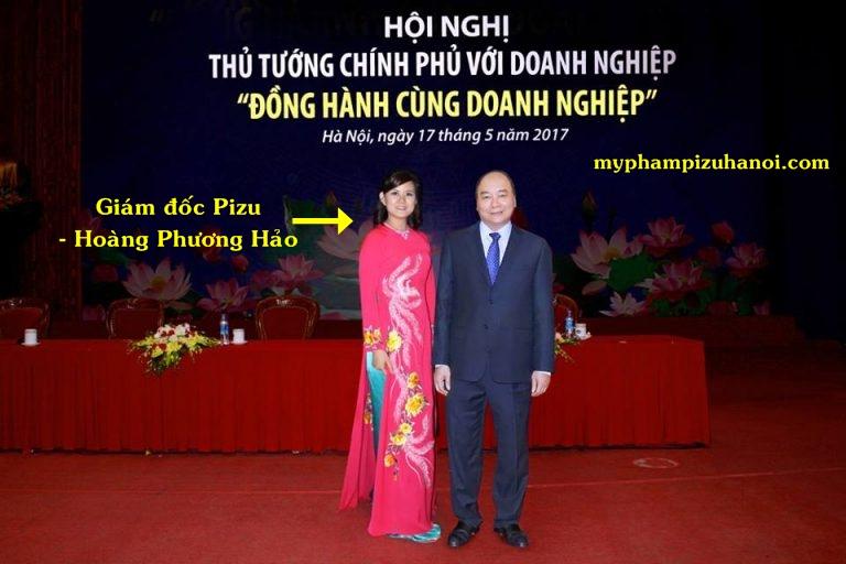 Mỹ phẩm thiên nhiên Pizu diện kiến Thủ tướng chính phủ Nguyễn Xuân Phúc