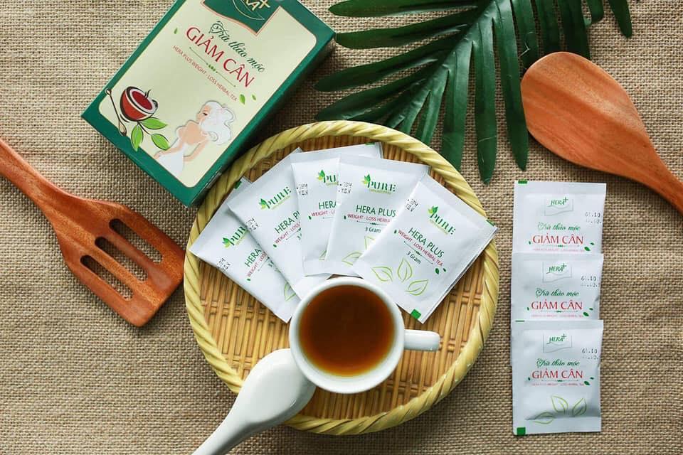 Phản hồi của khách hàng về trà thảo mộc giảm cân Hera Plus